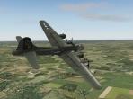 Cruising over Munich in the B-17G