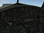 The 3-D panel of the B-17G