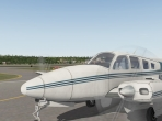 The Beechcraft Baron 58 in X-Plane 10