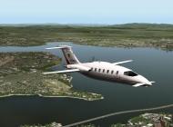 X-Plane 10's Piaggio Avanti