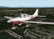 X-Plane 10's Columbia 400 model