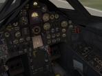 The cockpit of the SR-71 Blackbird