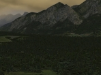 Forests and mountains in X-Plane 10