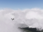 Midday in the clouds