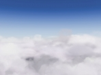 The view above the clouds