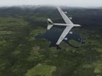 The B-52 Stratofortress in X-Plane 10