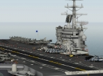 X-Plane 10's aircraft carrier