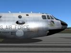 The B-52's fuselage