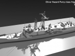 The in-progress Oliver Hazard Perry-class frigate, from the developers at Khamsin Studio