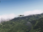 Soaring through X-Plane 10's clouds
