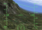 HUD view of the approach to LOWI