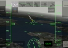 Flying an approach in X-Plane Airliner