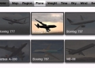 The Plane menu in X-Plane Airliner