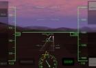 Sundown, as seen in X-Plane Airliner