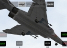 An F-4 Phantom coming in for a landing in X-Plane Carrier