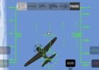 Firing on an A6M Zero in X-Plane Carrier